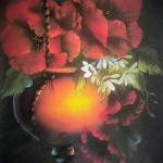 Bob Ross technique - Flores