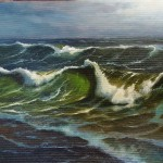 Workshop de pintura a óleo.