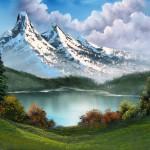 Pinte este quadro a óleo num só dia!